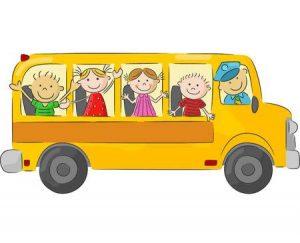 yellow bus kids